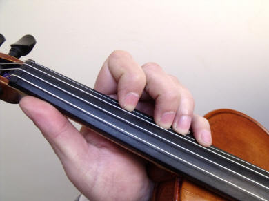 Third violin position 3