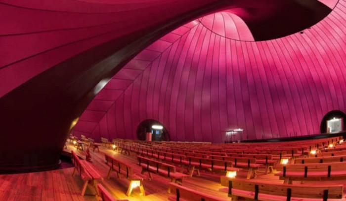 ark nova, salle de concert gonflable