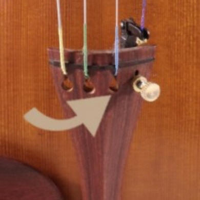 changer les cordes d'un violon 3