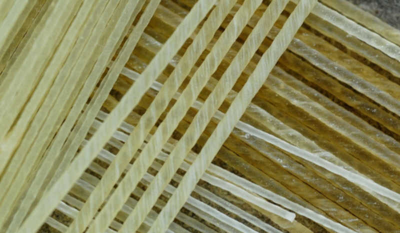 fabrication de cordes pour violon en boyau