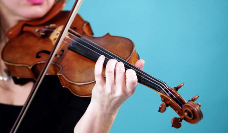 violin shifting