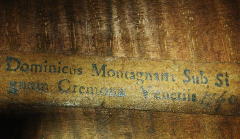 Domenico Montagnana luthier