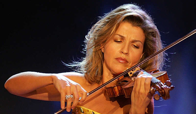 Violinista Anne Sophie Mutter