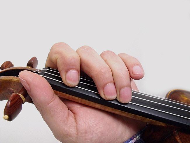 Gamme de sol majeur au violon 4
