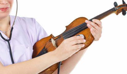 Garantía de un violín