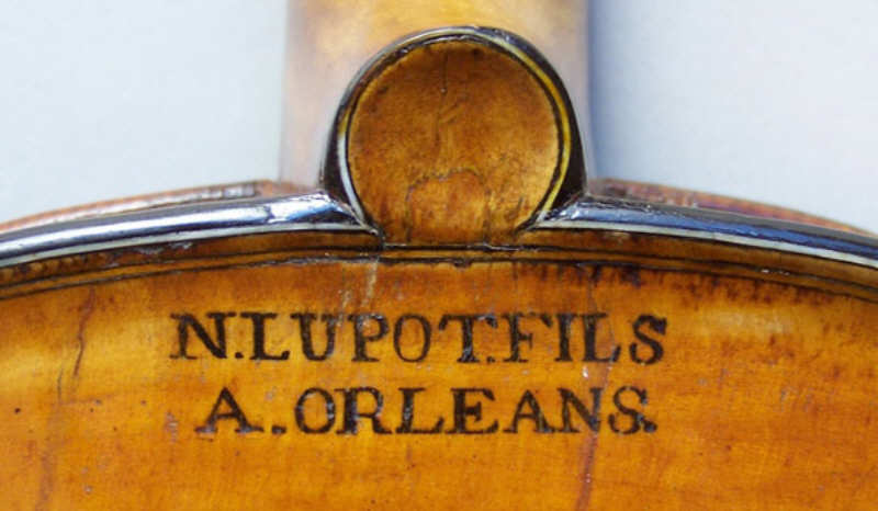 Nicolas Lupot Son, French violin maker