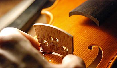 Reglage pour violon