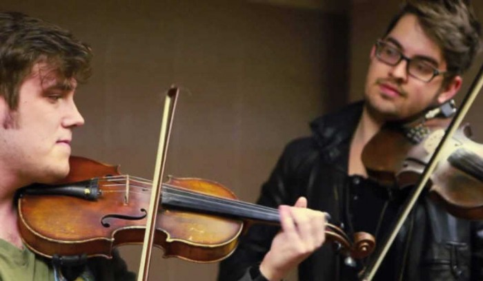 violinistas de metro
