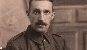 Violín de la primera guerra mundial