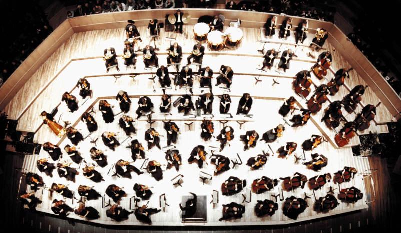 primer violín de la orquesta clásica