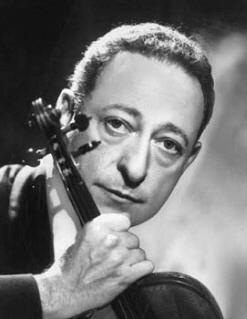 Violinista Jascha Heifetz