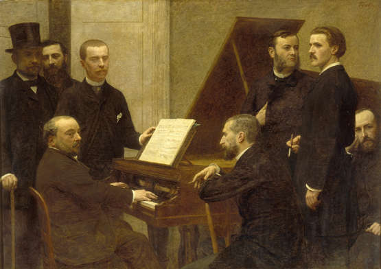 Emmanuel Chabrier, Autour du piano